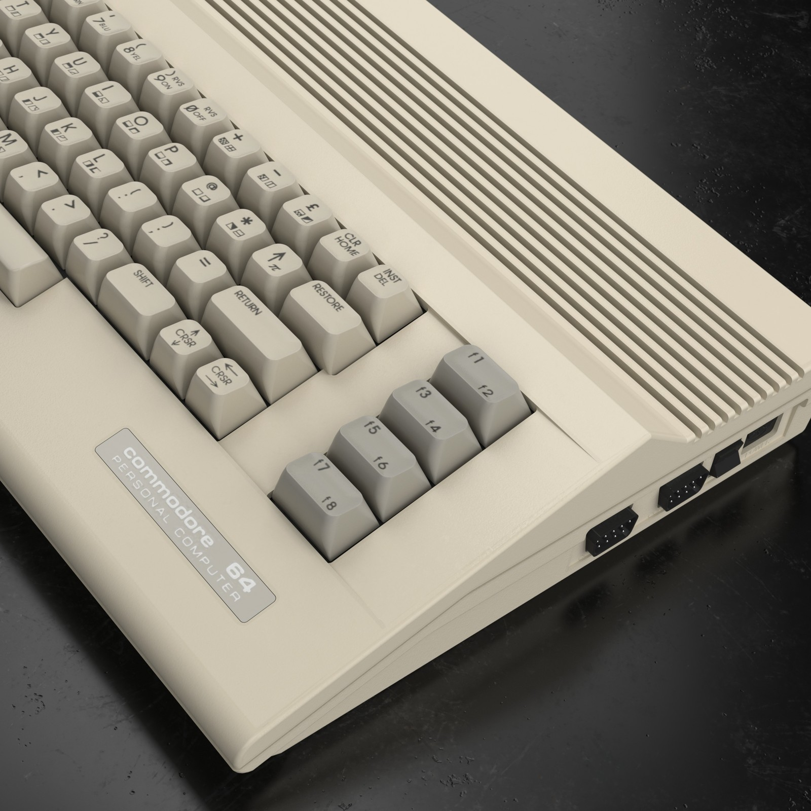 Commodore 64 C - Inside Out Modeling
