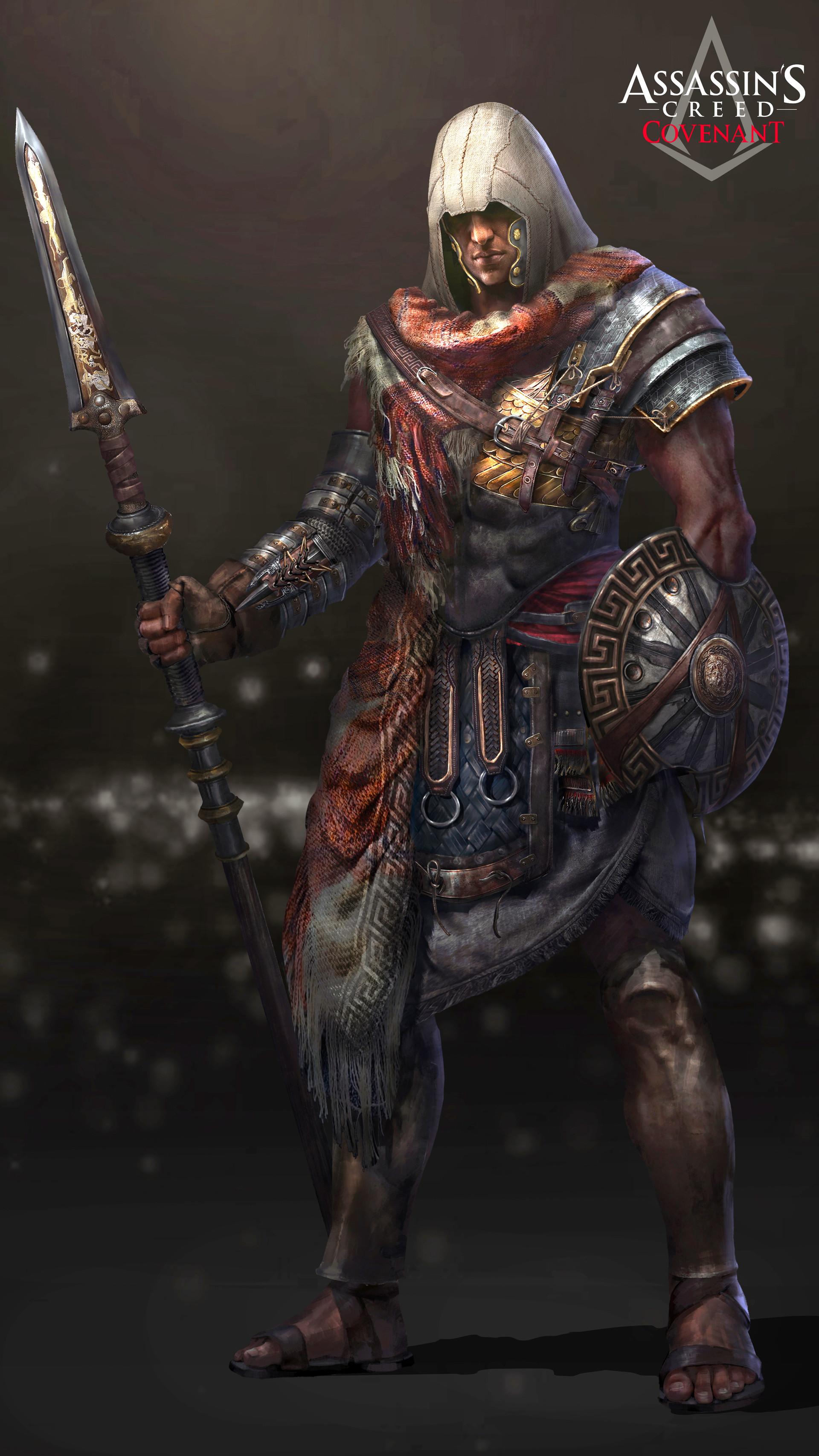Artstation Assassin S Creed Odyssey Fan Art Evan Liu