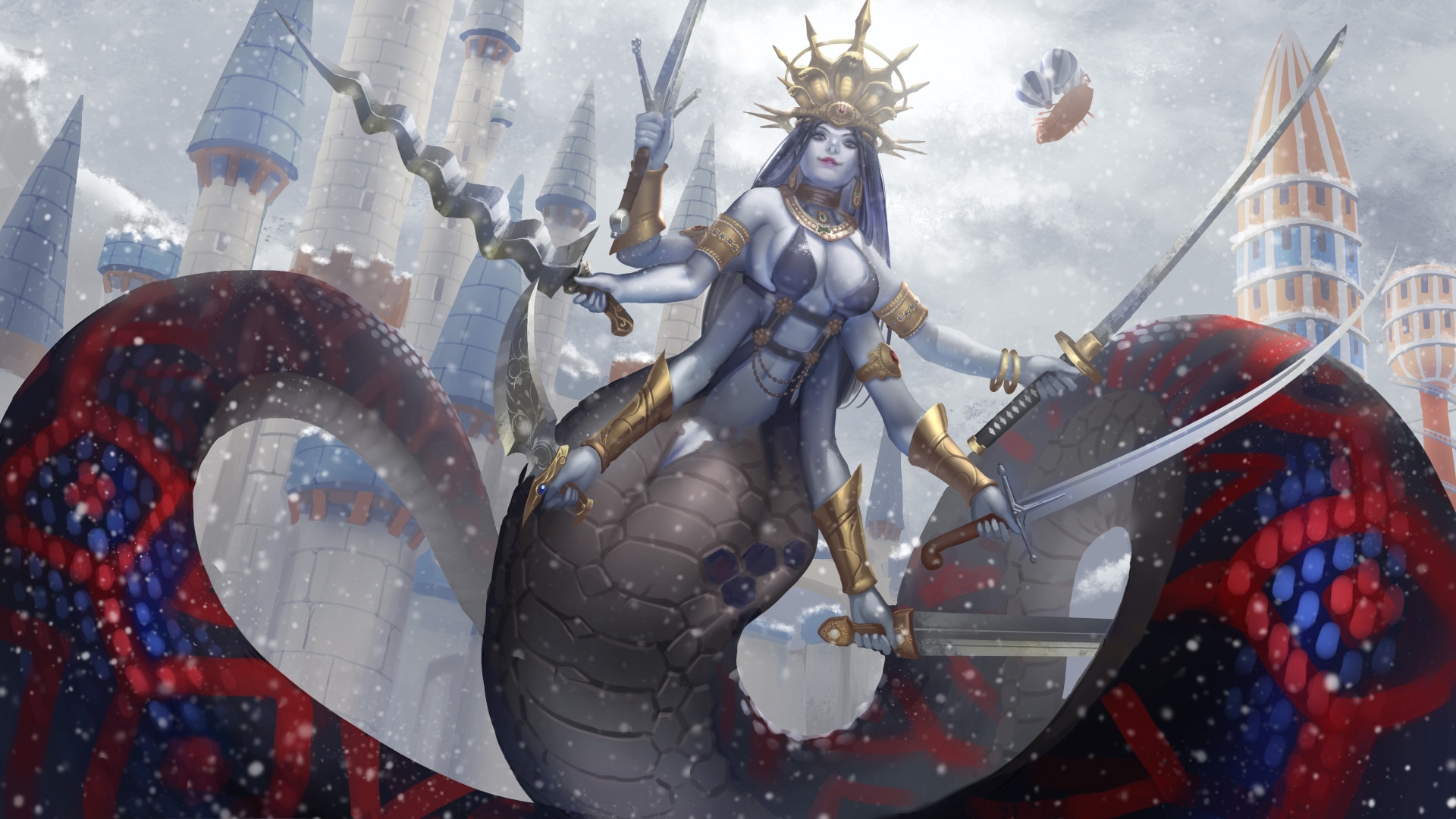 ArtStation - Naga Queen, To Hsu