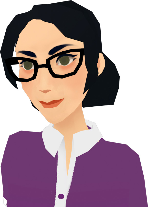 Clementine frere lowpoly pauling