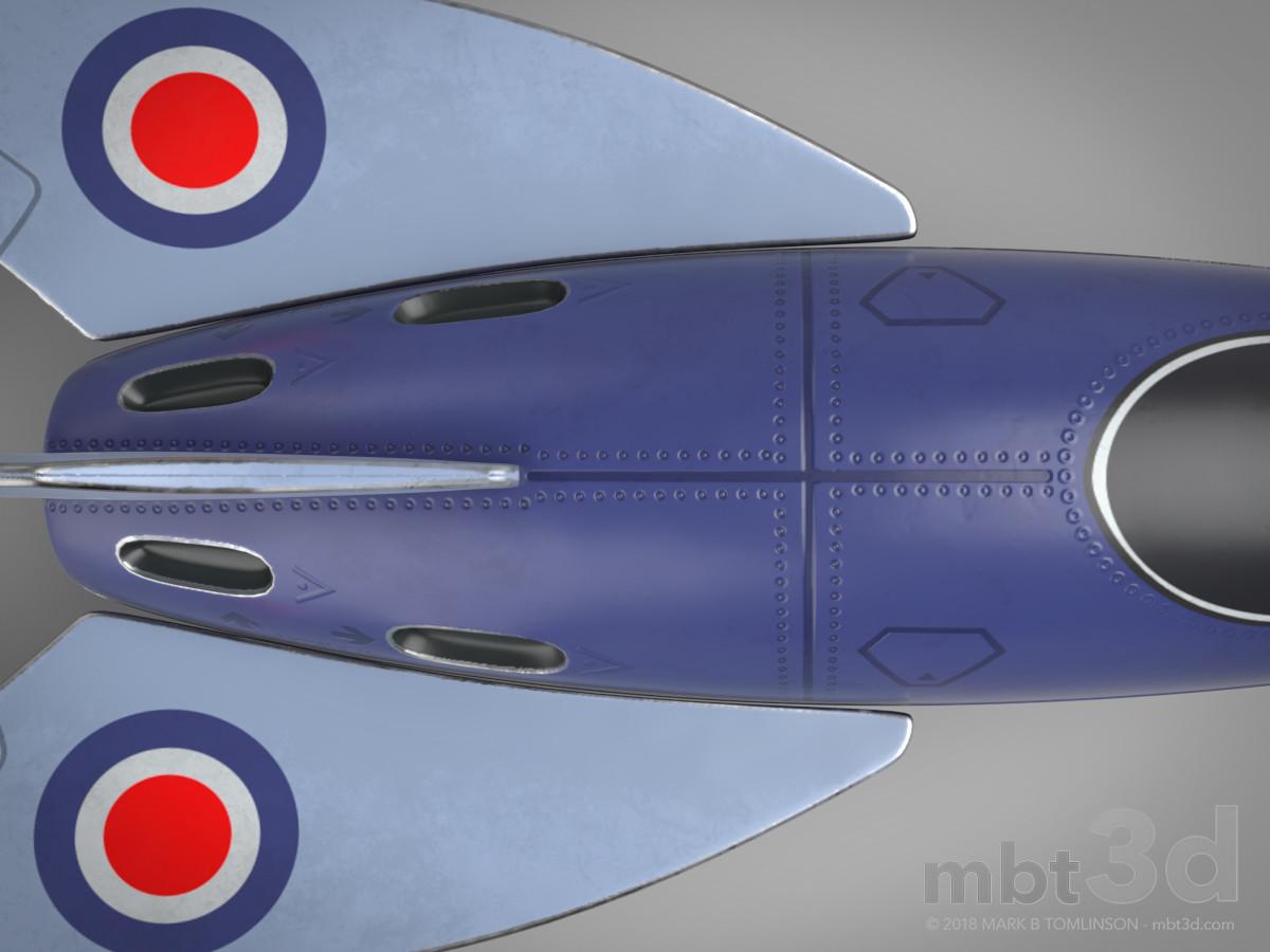 Pocket Rocket Top Rear