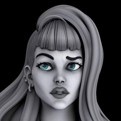 Laura - Concept Sculpt