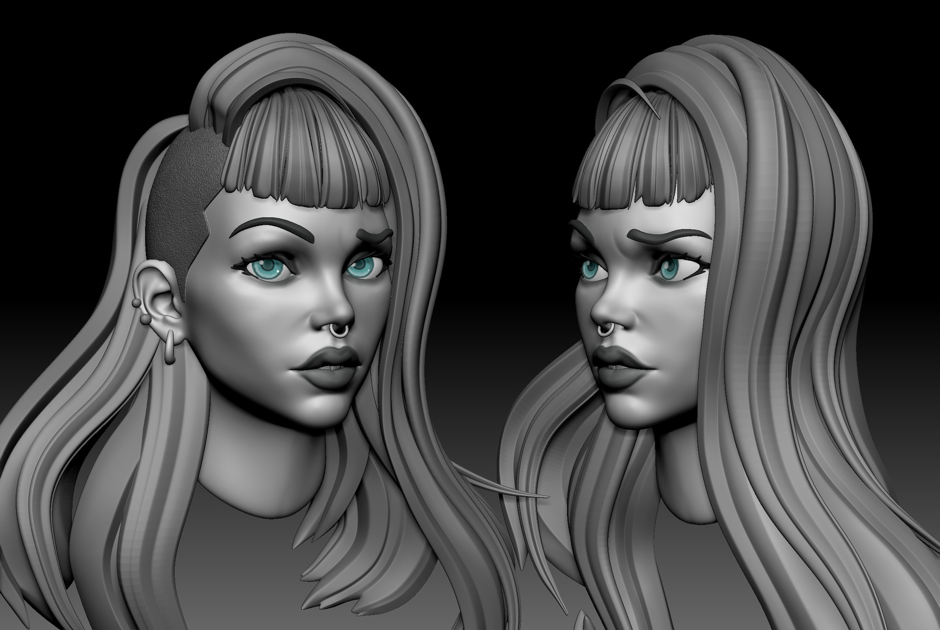 Couple of different angles of the sculpt