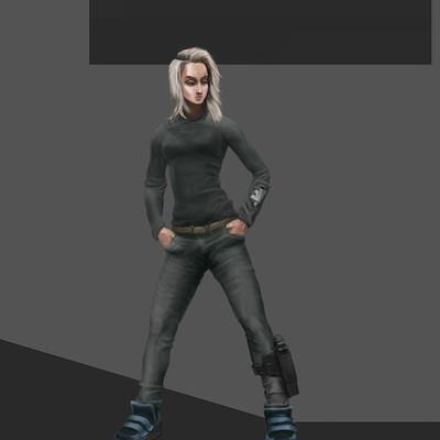 Dmytro veseliy girl in boots
