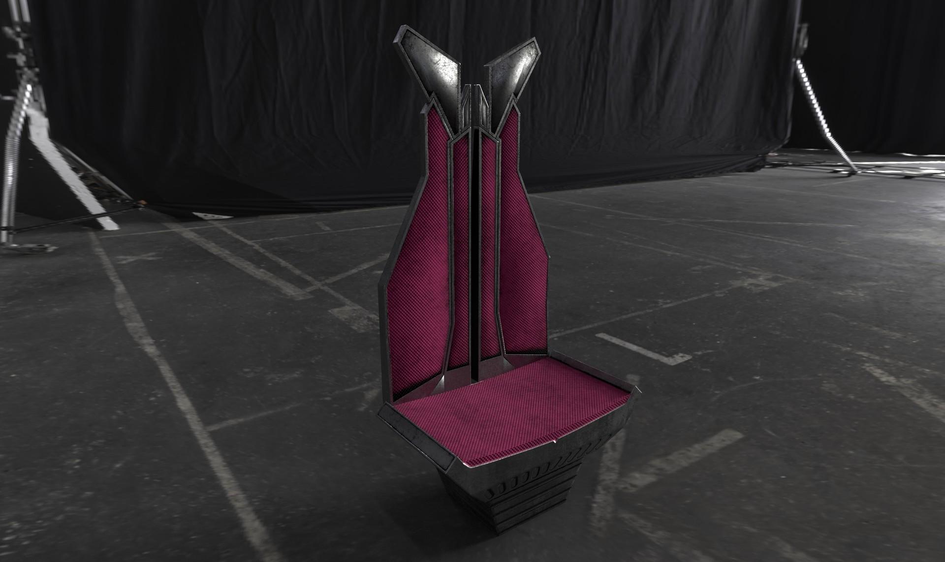 Chiefs version chair