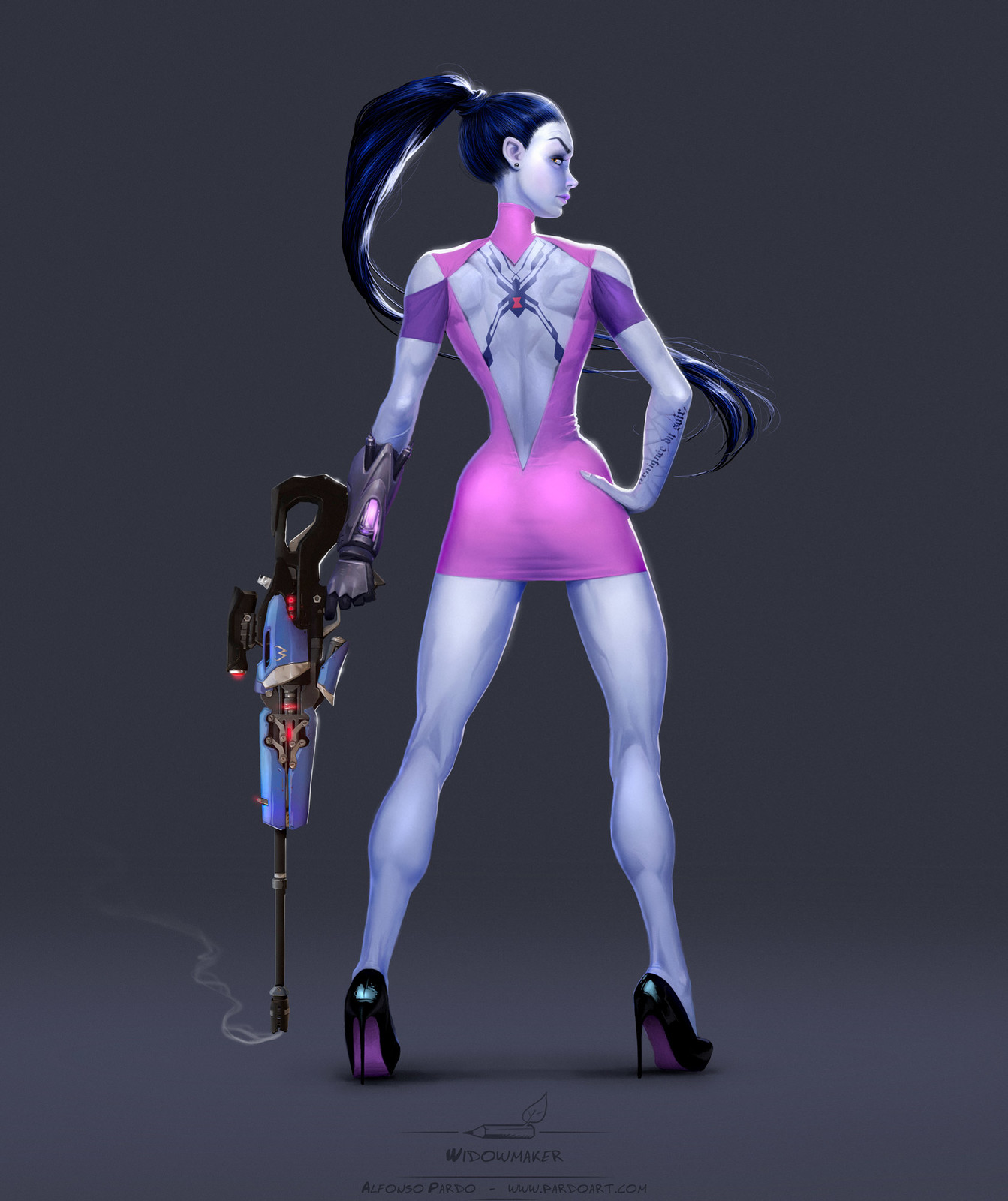 Widowmaker fanart