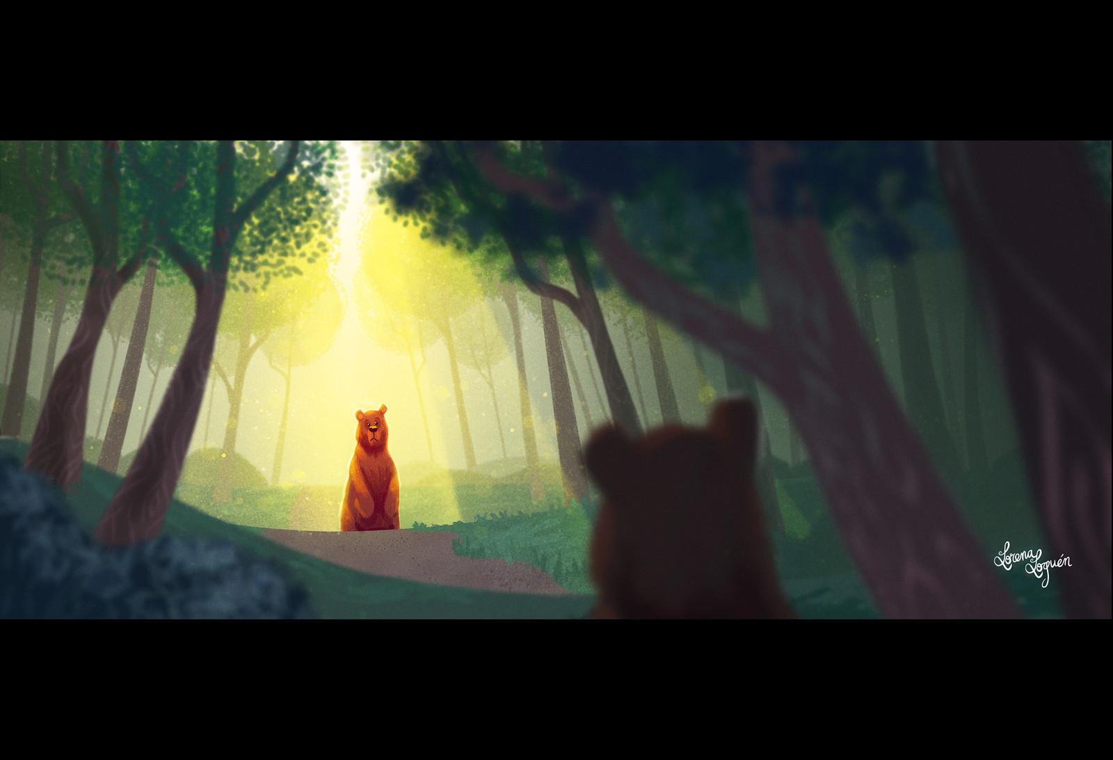 The bear (Story 1)