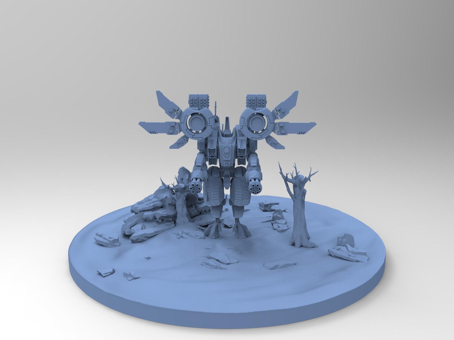 ArtStation - Riptide Battlesuit - Tau (warhammer 40k), Ben