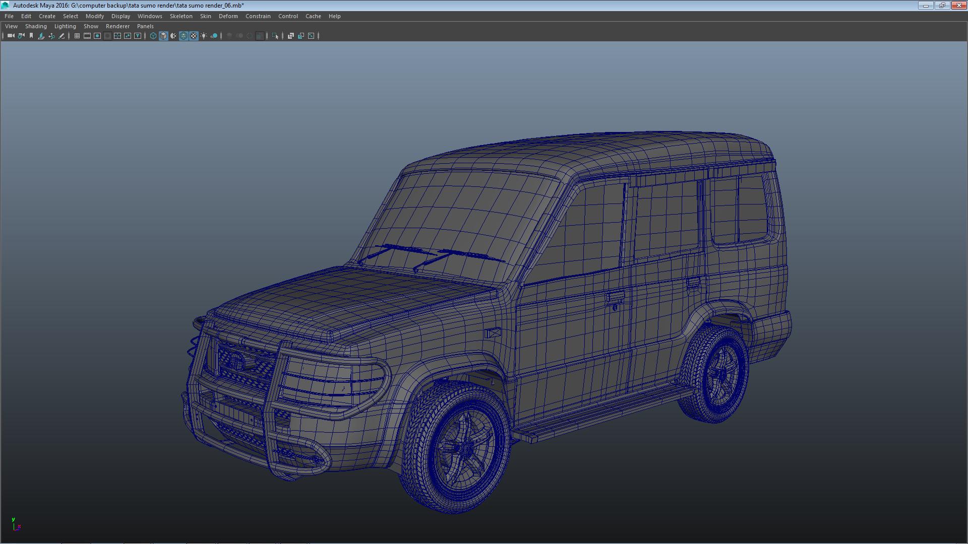 ArtStation - Sumo 3D Car Model, , online3darts classes