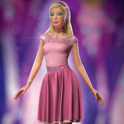 Andre pires barbie composition