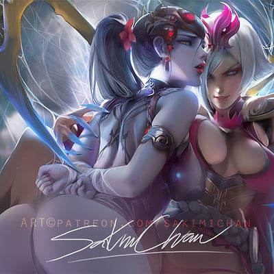Sakimi chan elisexwidowmaker preview x
