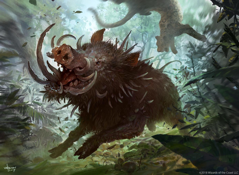 Svetlin velinov bristling boar