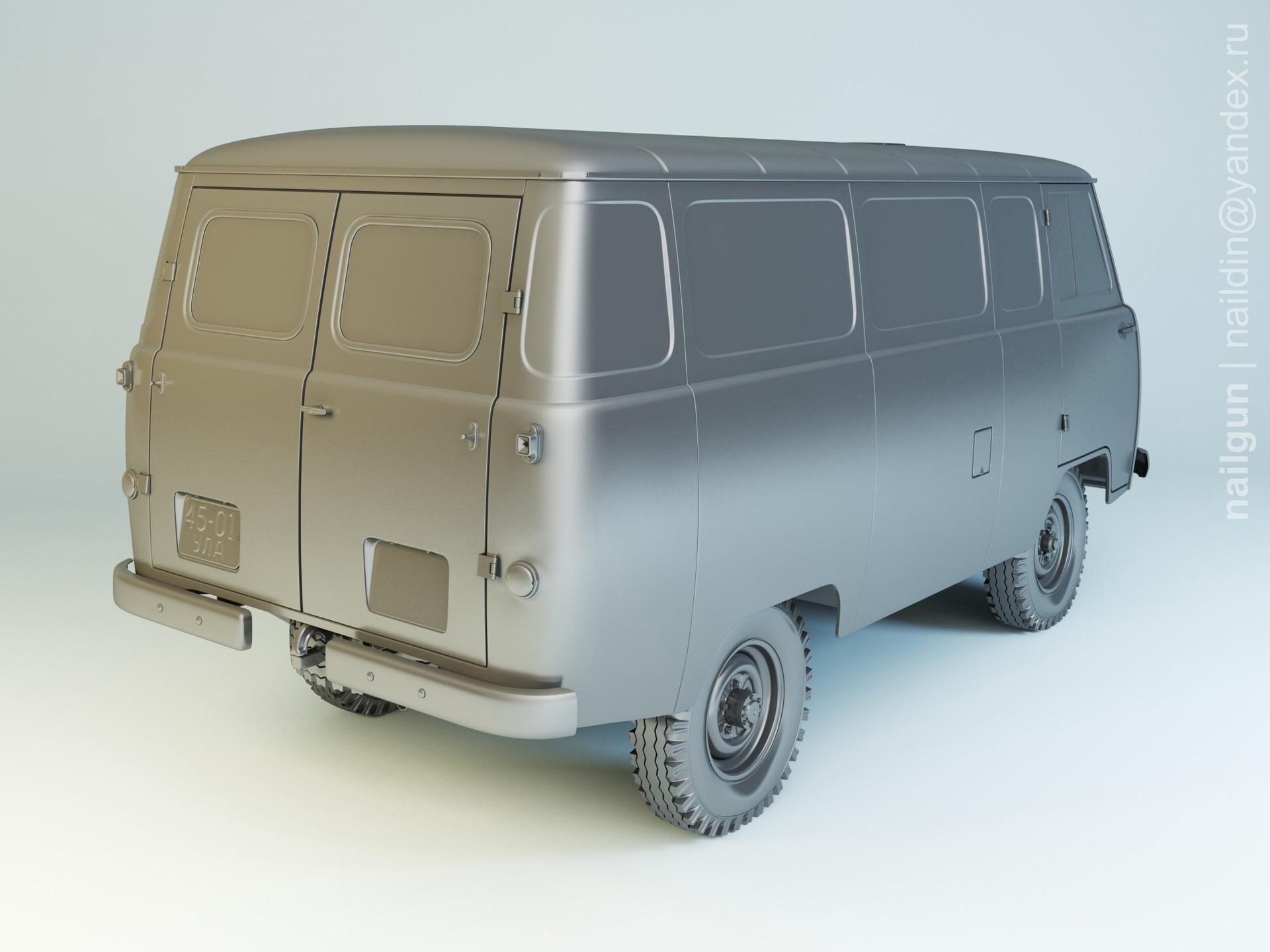 Nail khusnutdinov als 191 001 uaz 450 modelling 1