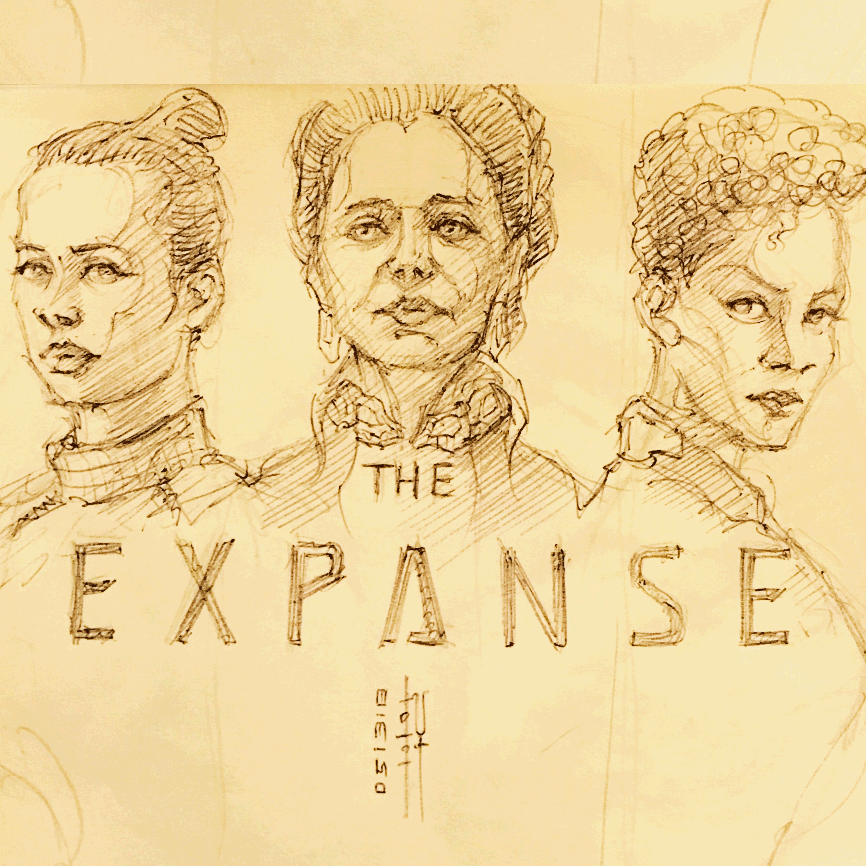 Day 05-13-18 - The Ladies of the Expanse I