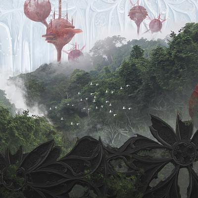 Mycelium Wall