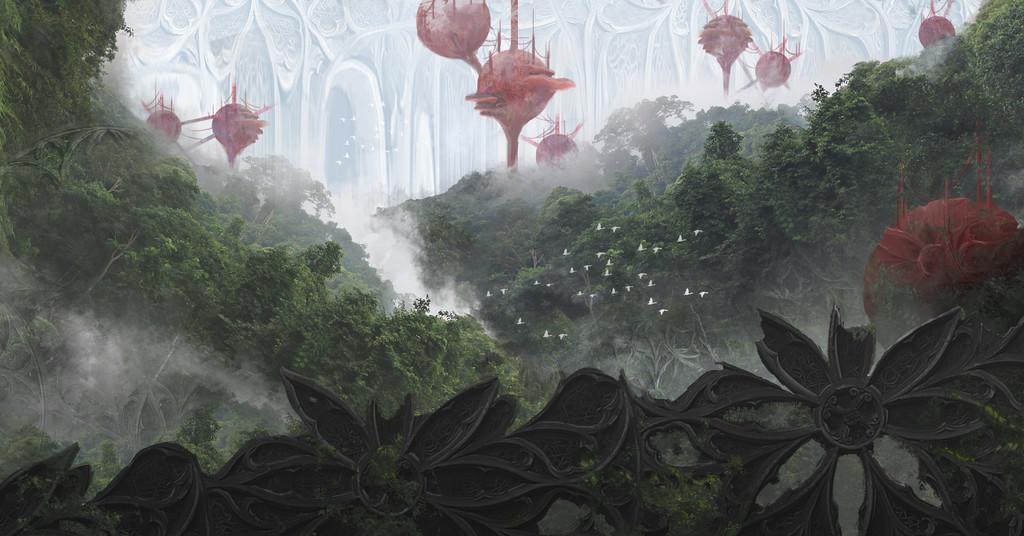 Cze peku mycelium wall by czepeku dcdchso