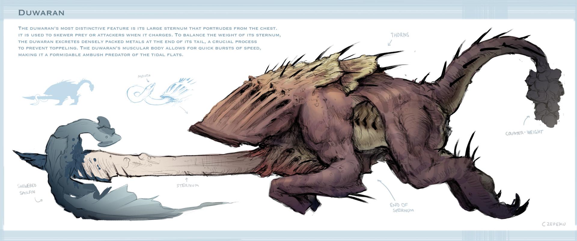 Cze peku sternum creature by czepeku dce13u7