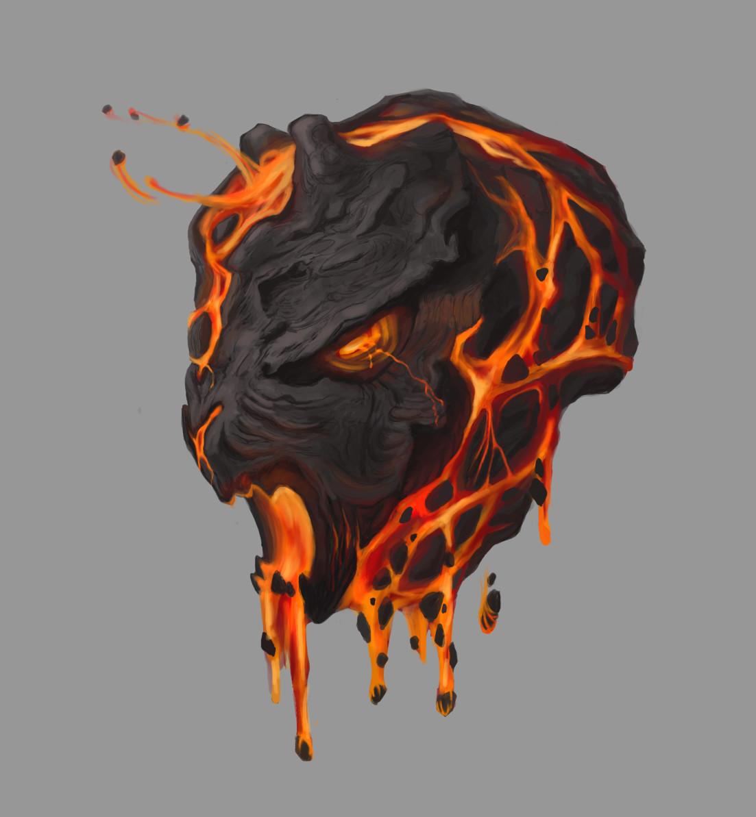 Art Studies - Lava Rock