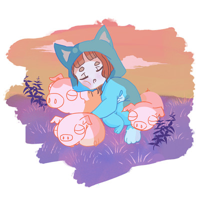 Kira davis sleeping