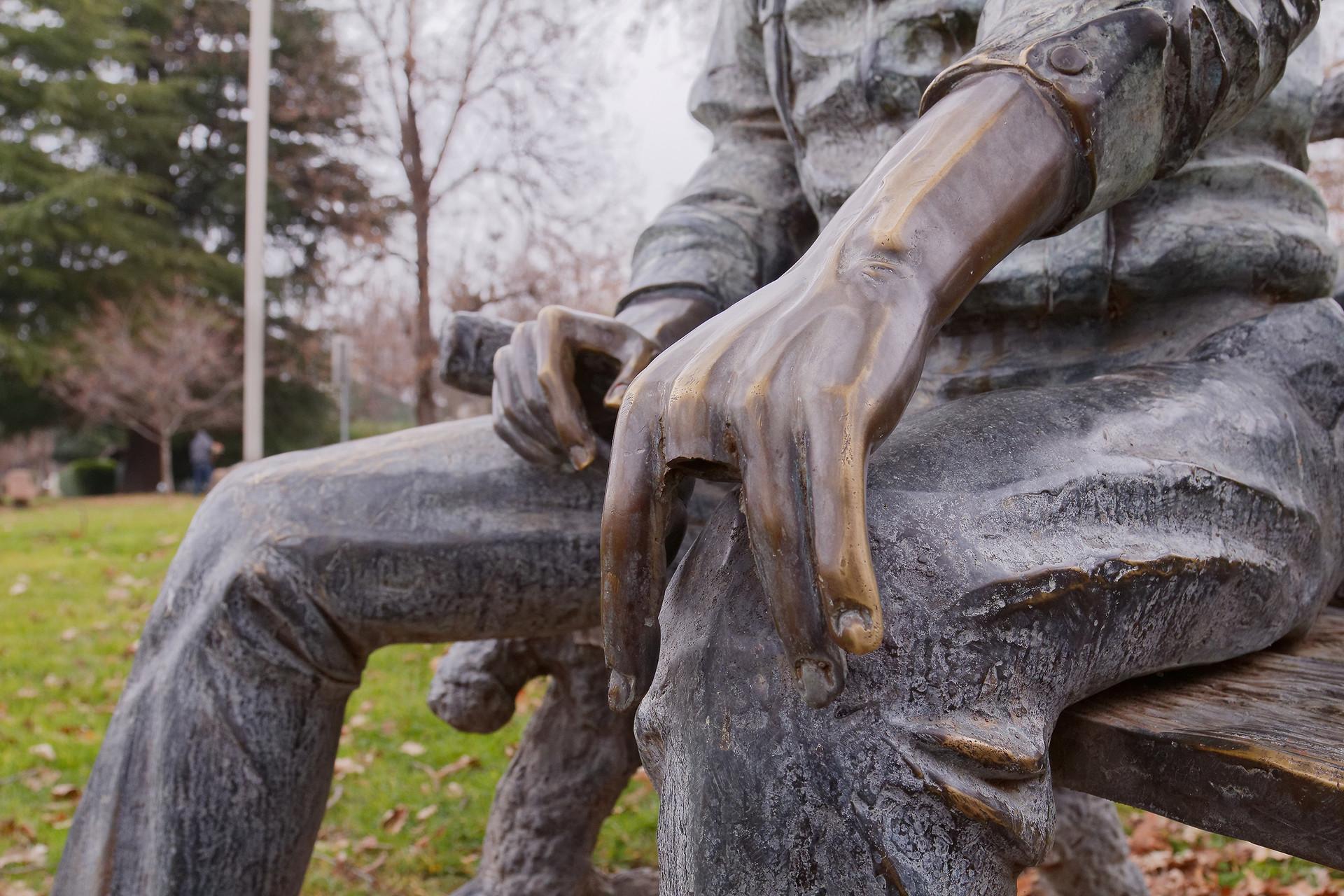 ArtStation - Bronze 3D print Statue Repair, Daniel Cahill