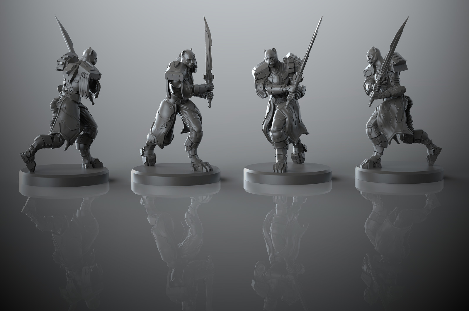 Breachstorm boardgame miniature