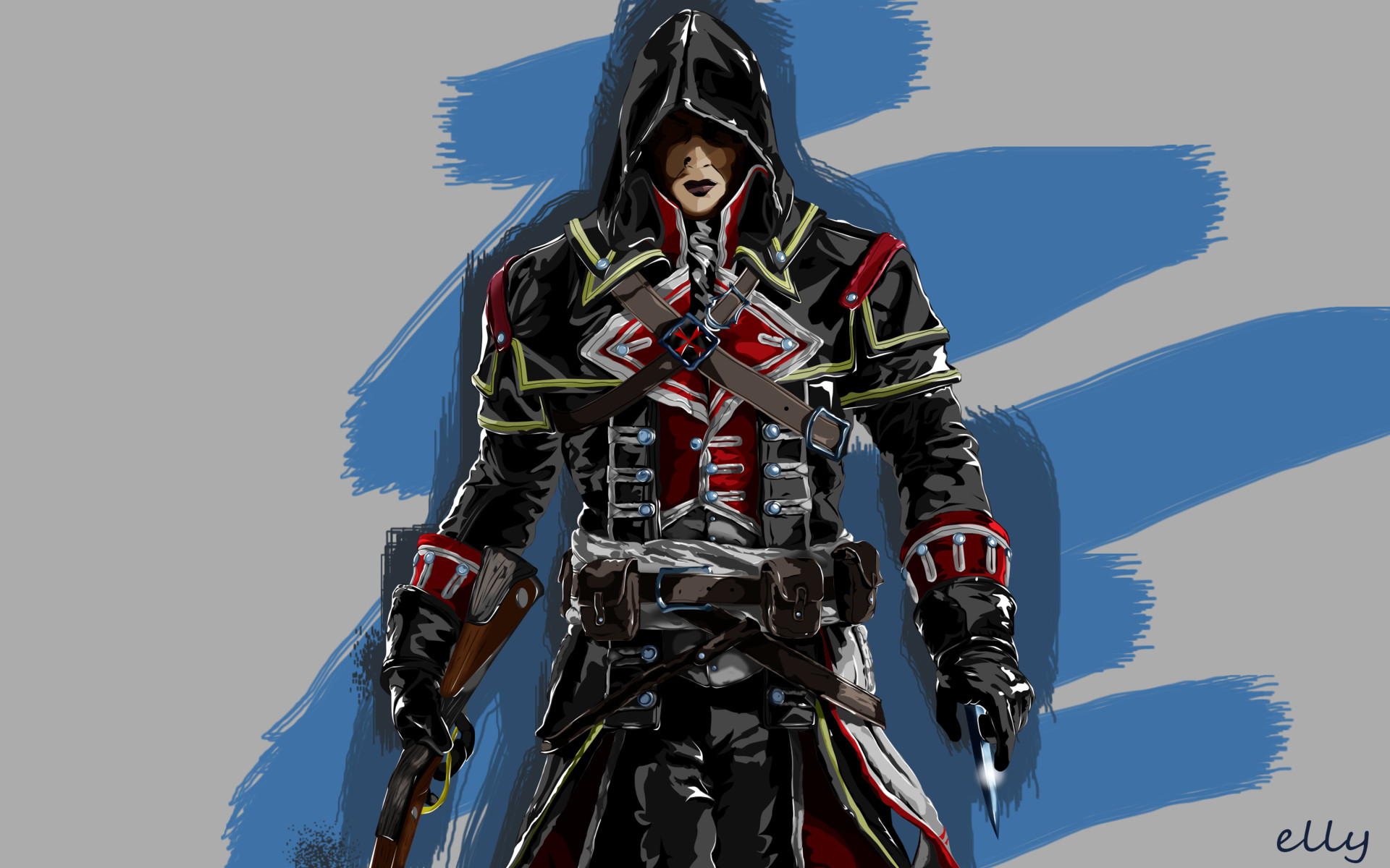 Artstation Assassin S Creed Rogue Shay Patrick Cormac Elly Tioxon