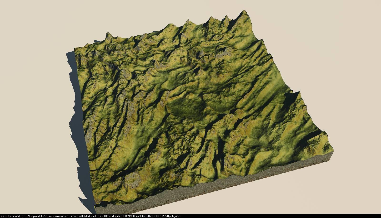 Denis Mukhanovsky - Terrain generation study