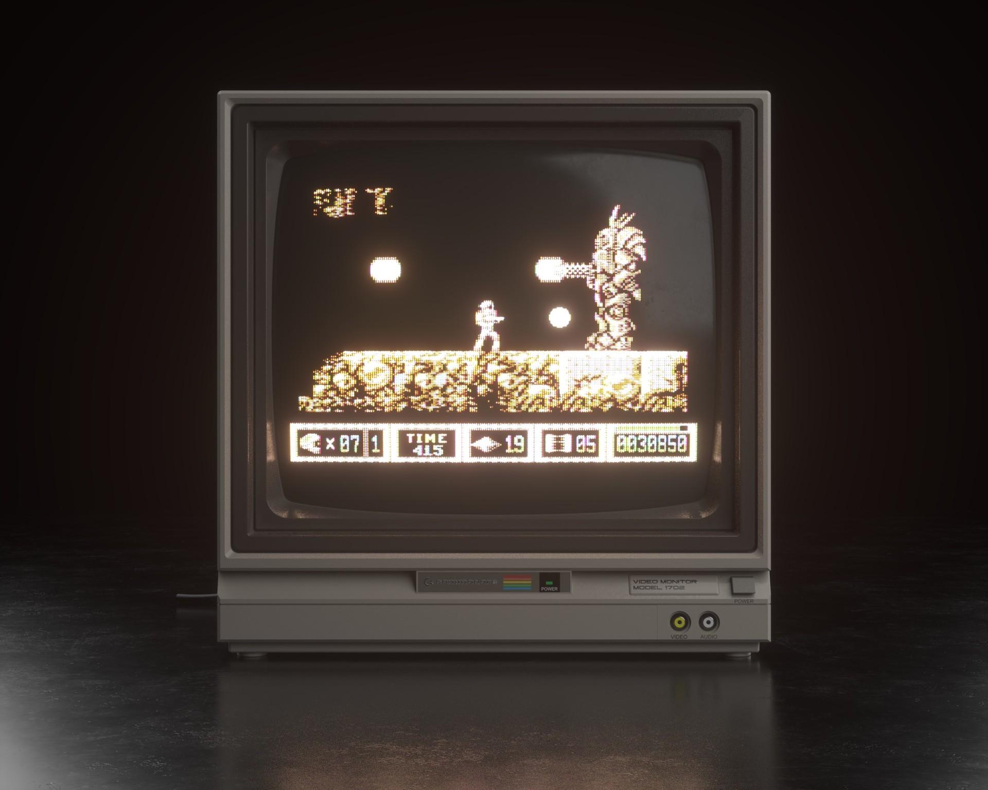 Cem tezcan c64 monitor 00001