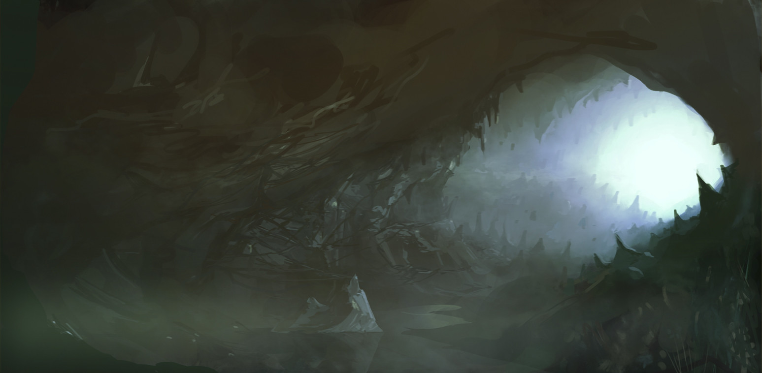 'Underworld' Entrance to the Underworld for Mythis Isles Facebook game.