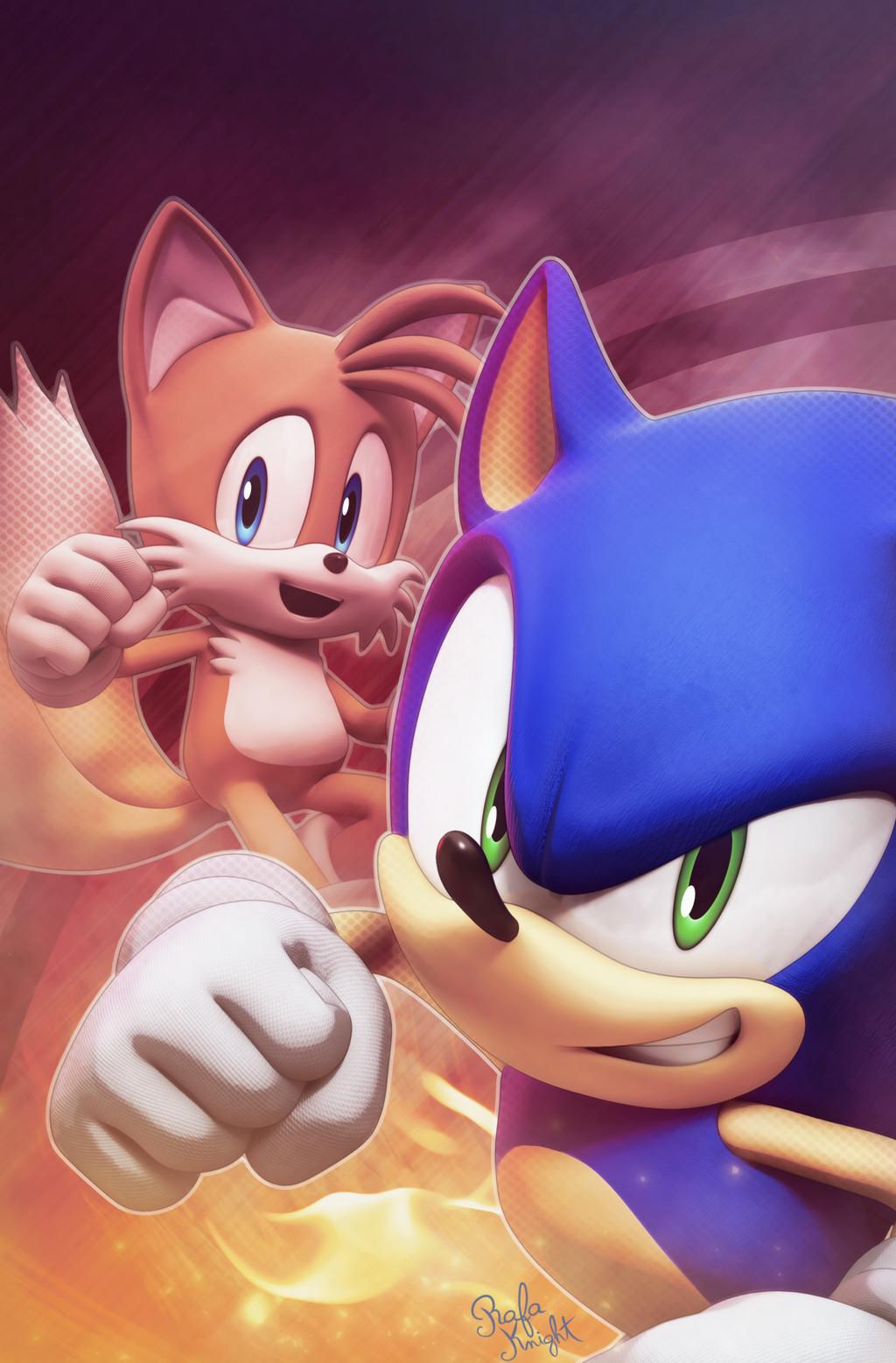 Artstation Sonic The Hedgehog 1 Variant Cover 2018 Rafa Knight