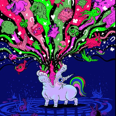 Jim bryson jimbryson unusual unicorns sized fin