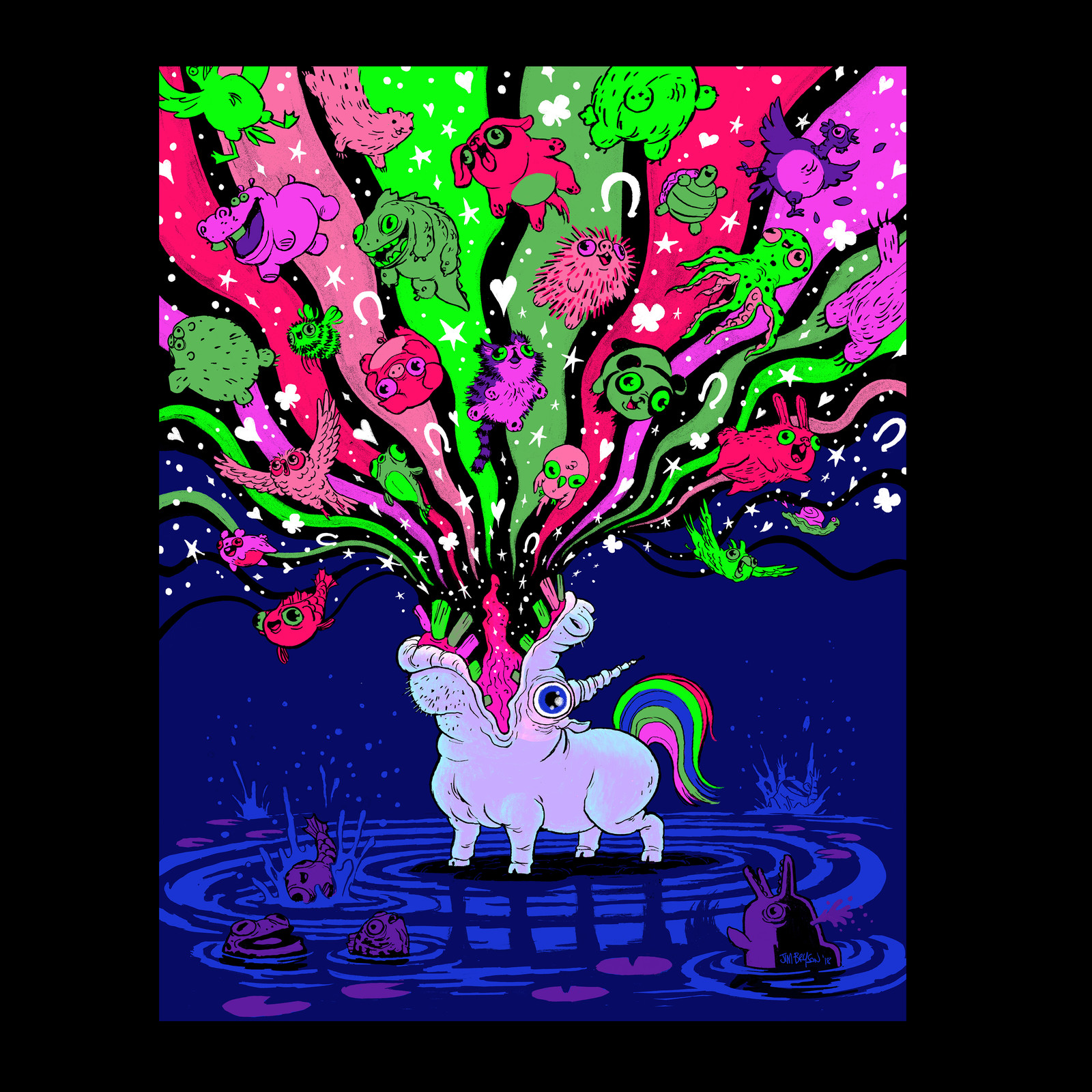 Barfing Unicorn