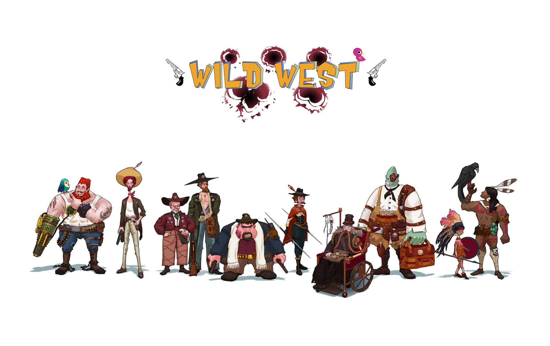Xiangyu che wild west lineup