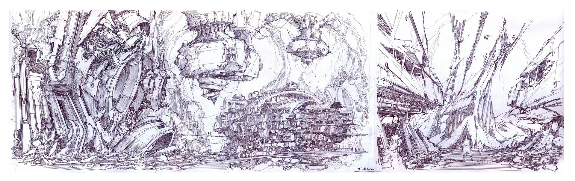 Alejandro burdisio bocetos tek8