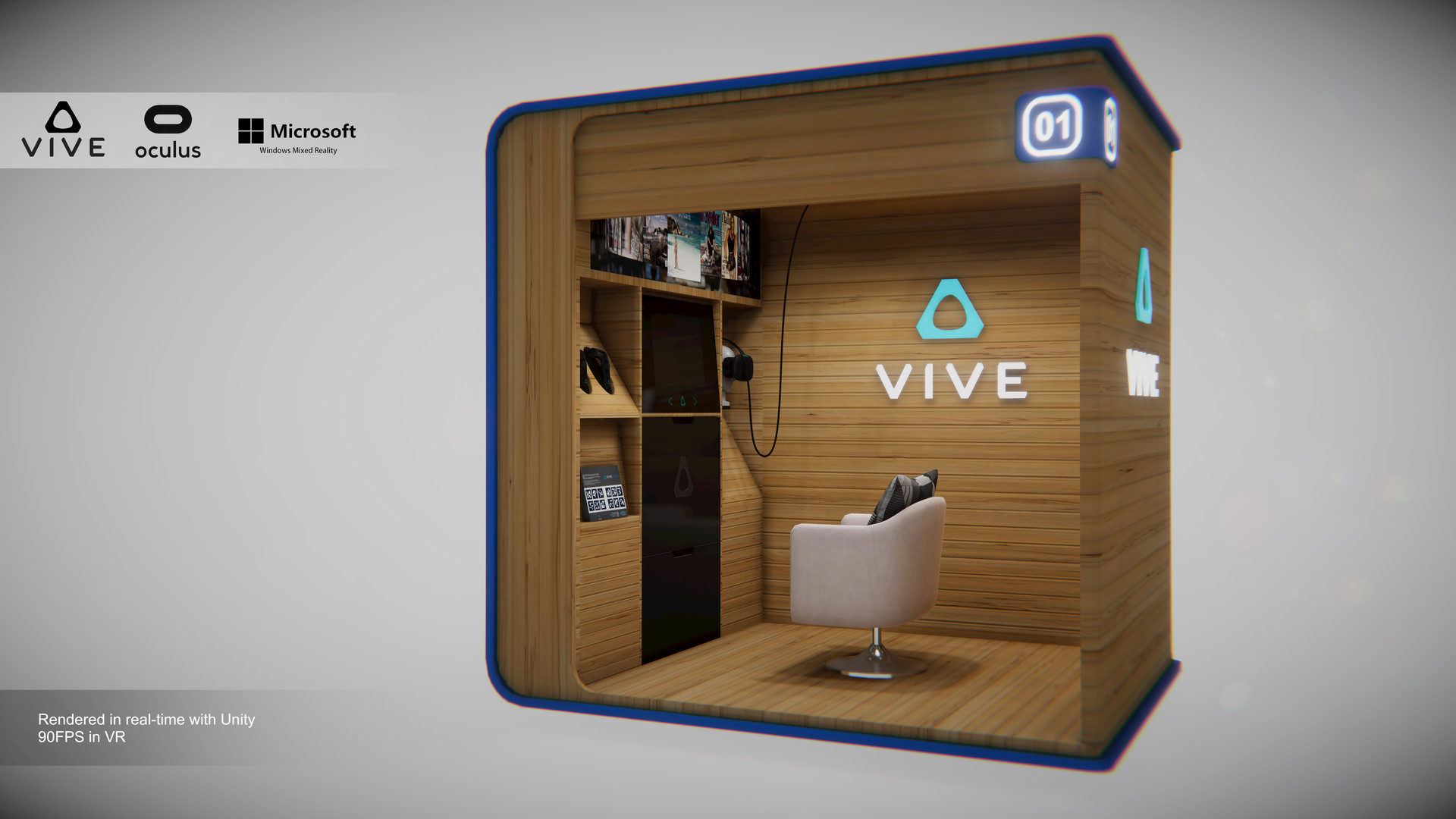 Lute Li - VR Cube - Rendered in real-time with Unity