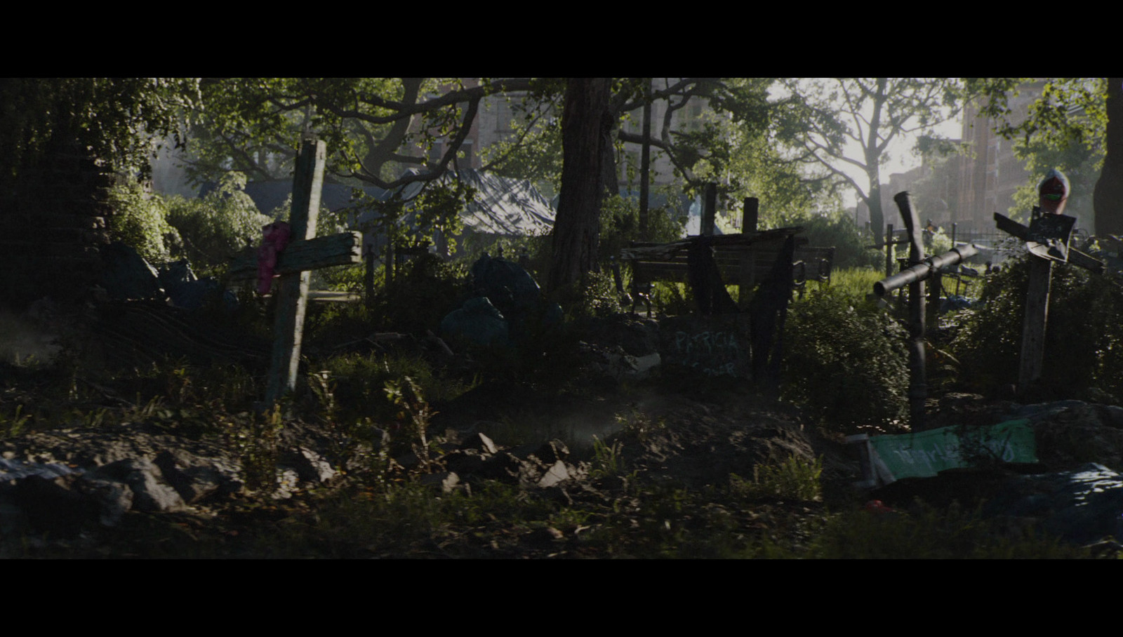 Park, screenshot from cinematic.