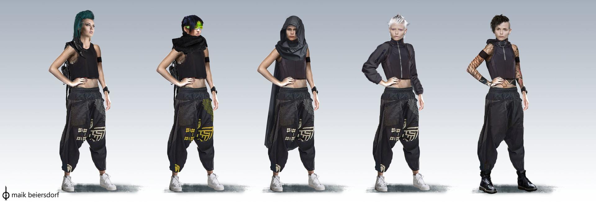 Maik beiersdorf character designs heroine
