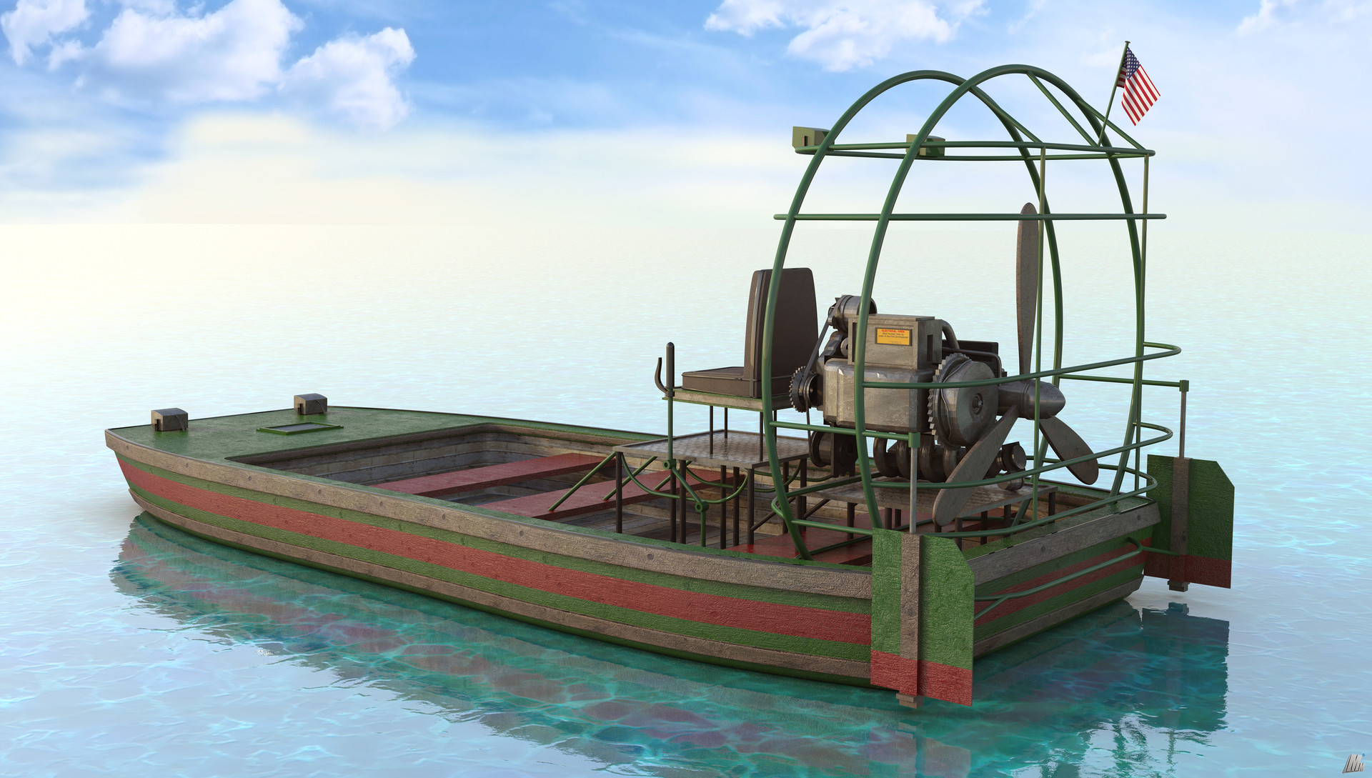 Marc mons airboat1