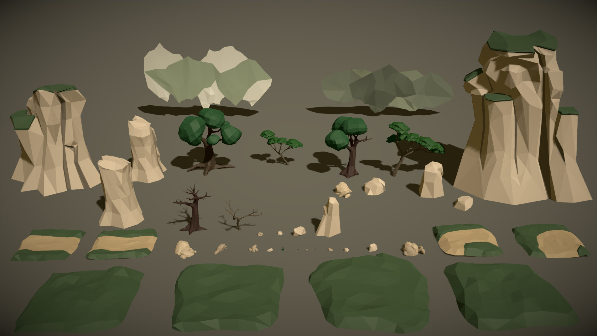 Polytope studio pt medieval lowpoly characters environment