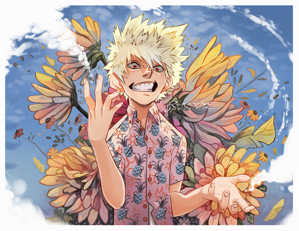 Bakugo's Senior Portrait
