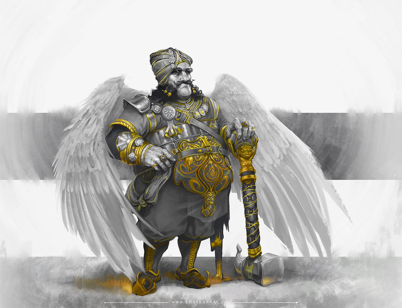 The Garuda Maharaja (Baaz Singh)