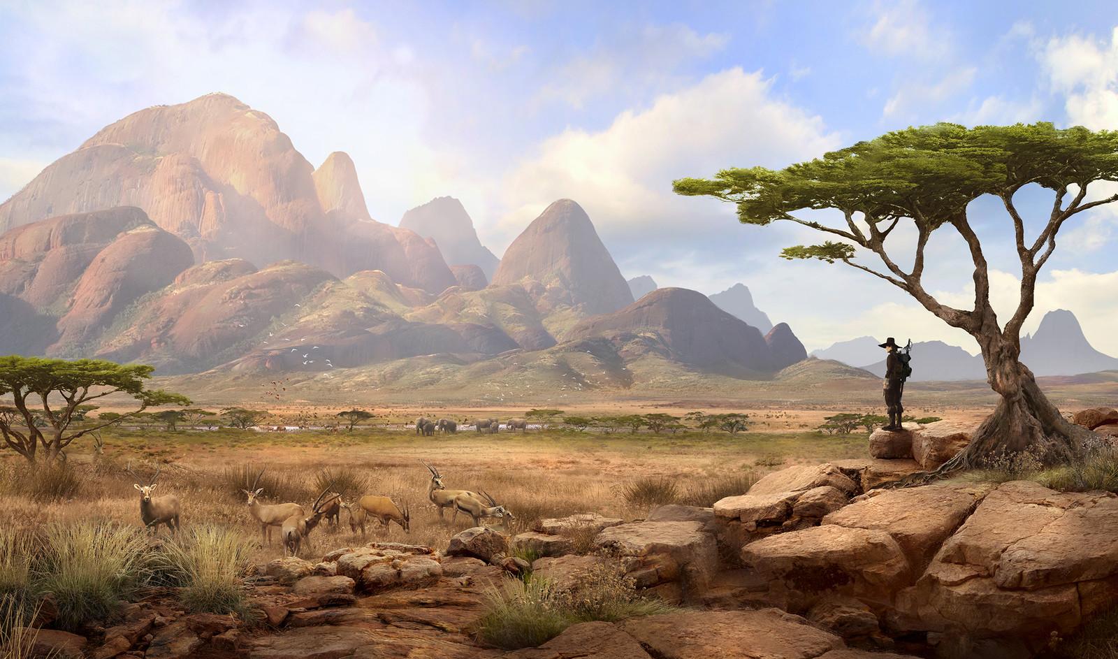 Solomon Kane - Africa 2 Landscape