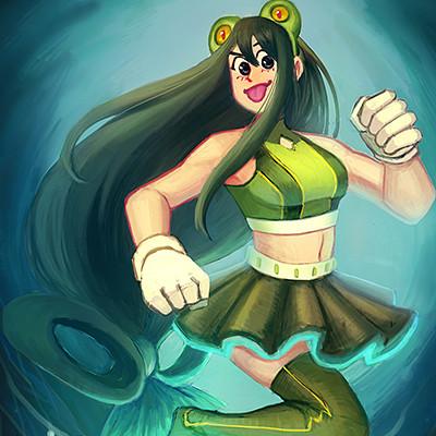 Koh zhi lin tsuyu zine illustration sketch 2 wip 5 smol