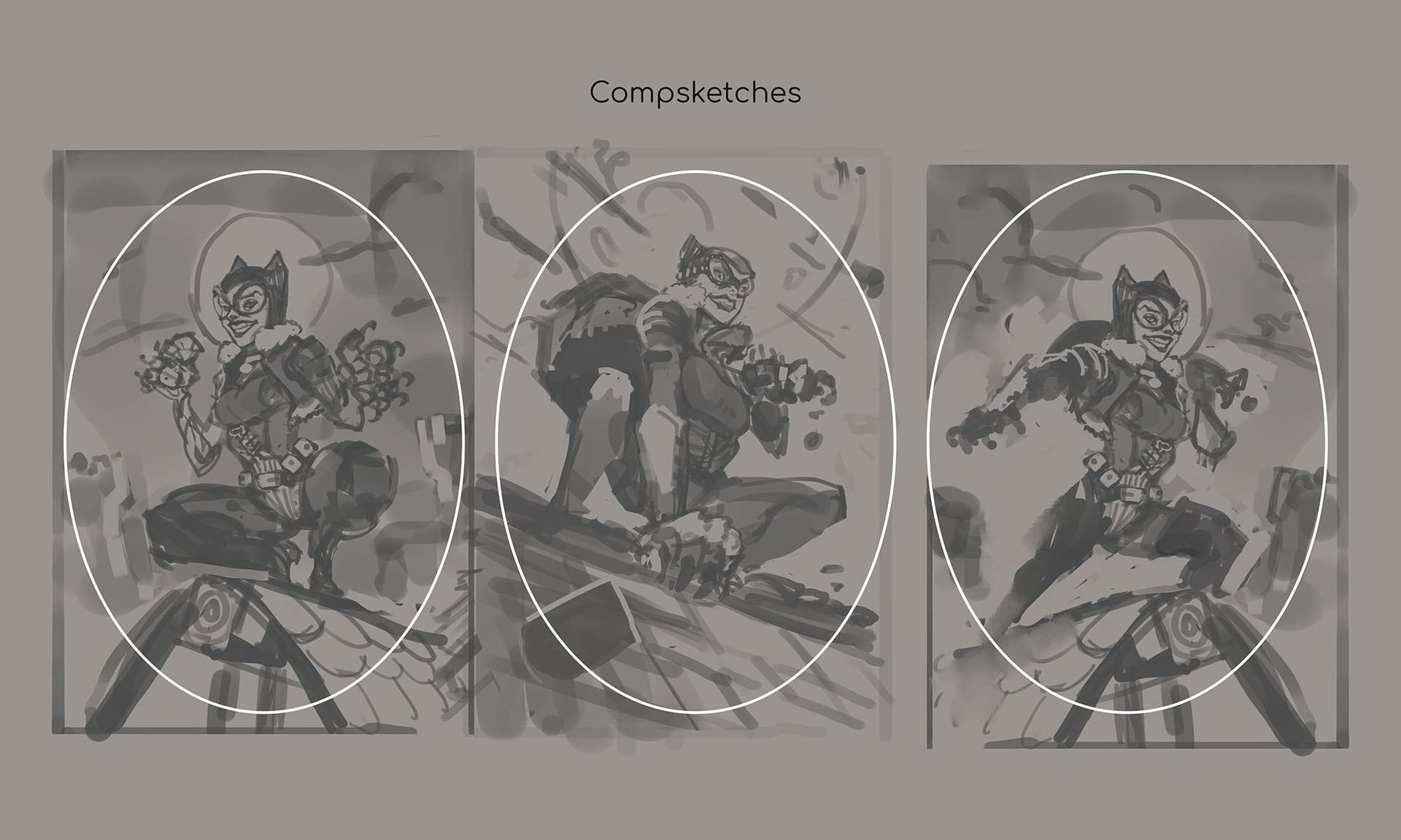 adjusting the design to fit the illustration