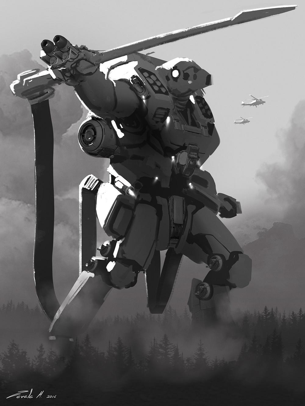 Gun/sword Jaeger