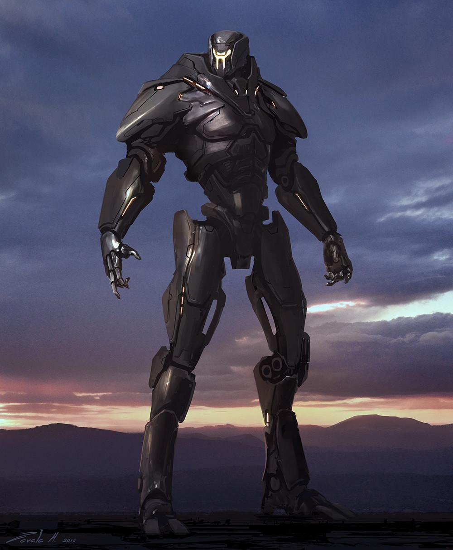 Artstation Obsidian Fury Stephen Zavala