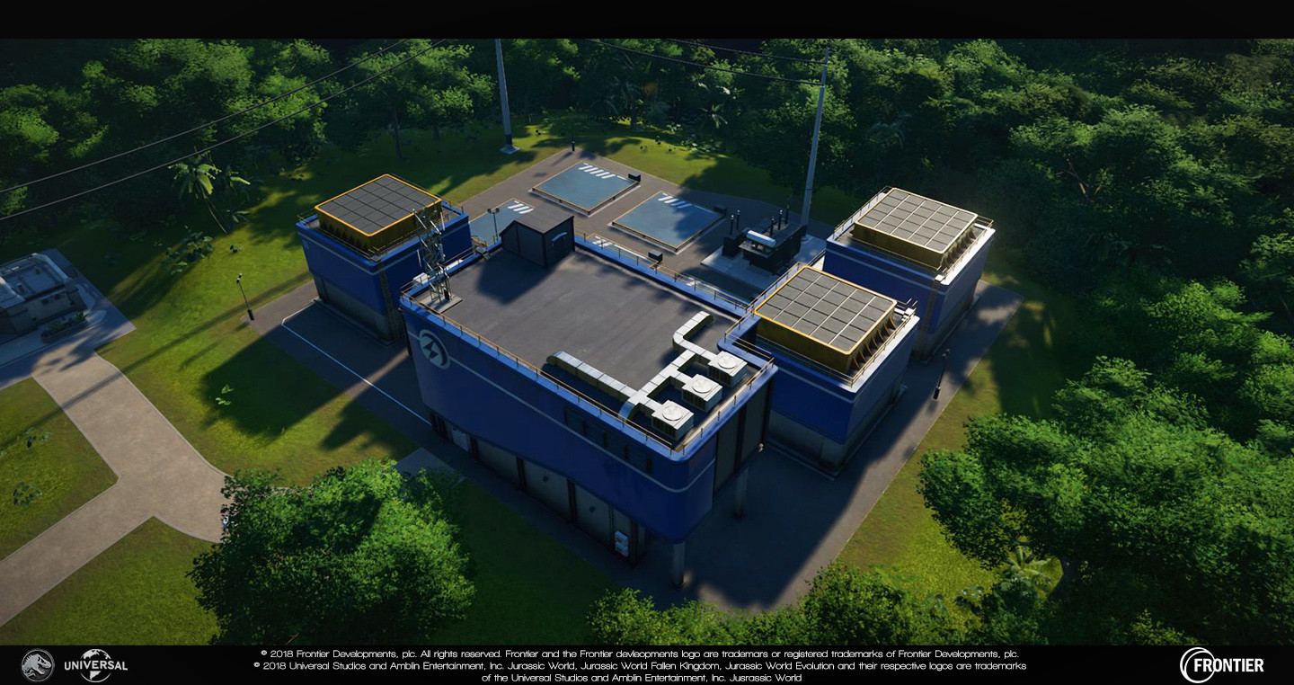 Large Powerstation Responsible for: - Blockout - Prefab additions (such as vents etc...) - Modelling - Unwrapping/texturing - Damage (excluding particles) - Lighting updates