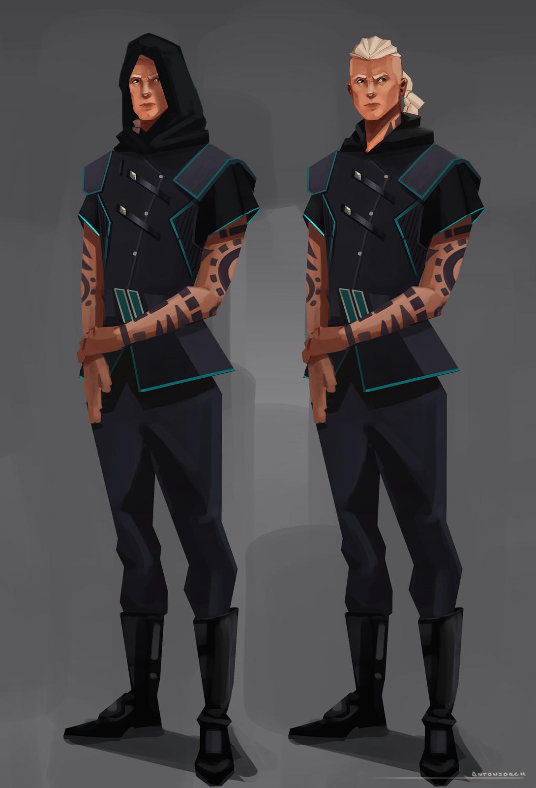 Cyan Character Design - Ae'Ra Sunburn