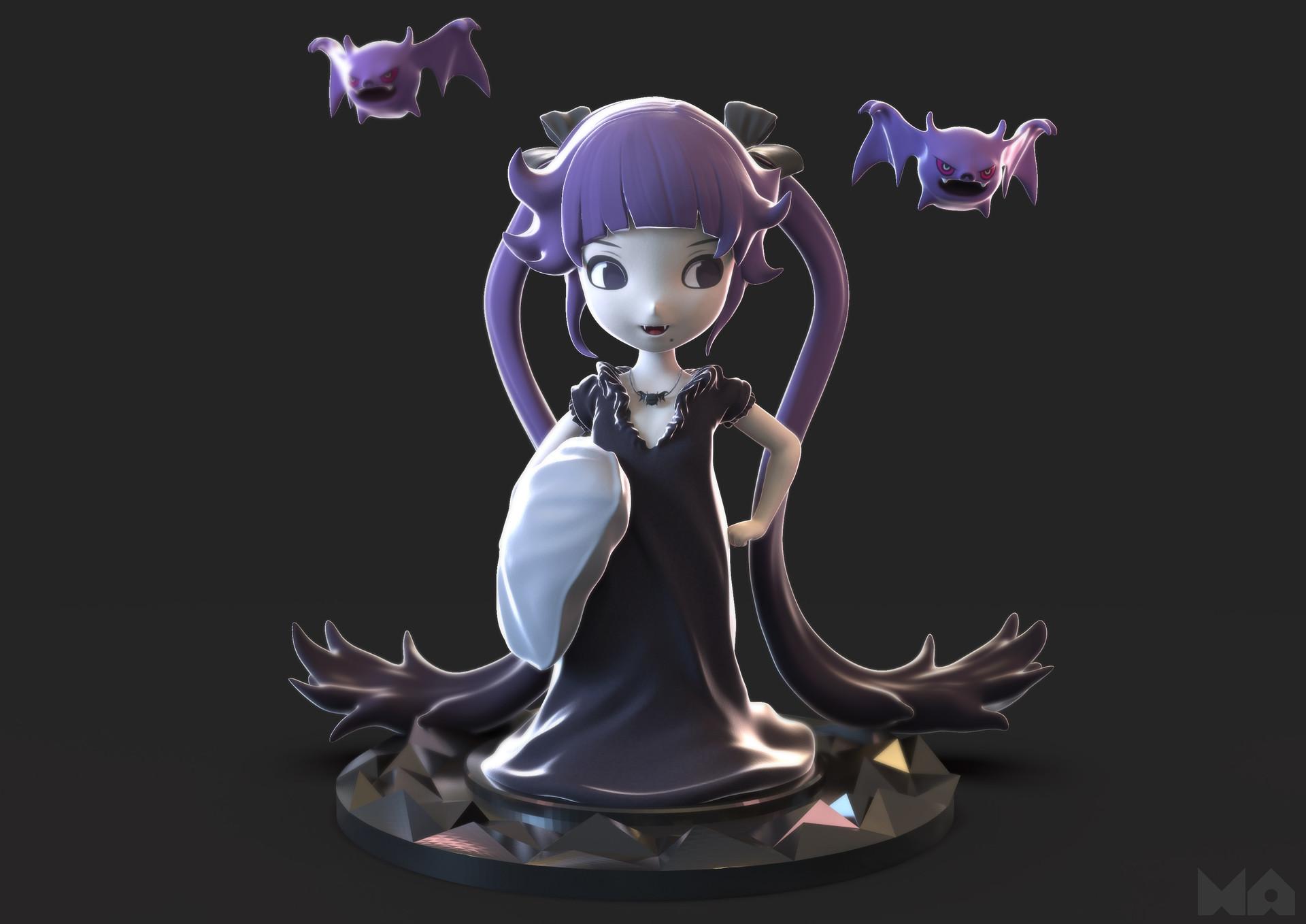 Masatomo suzuki vampire render02