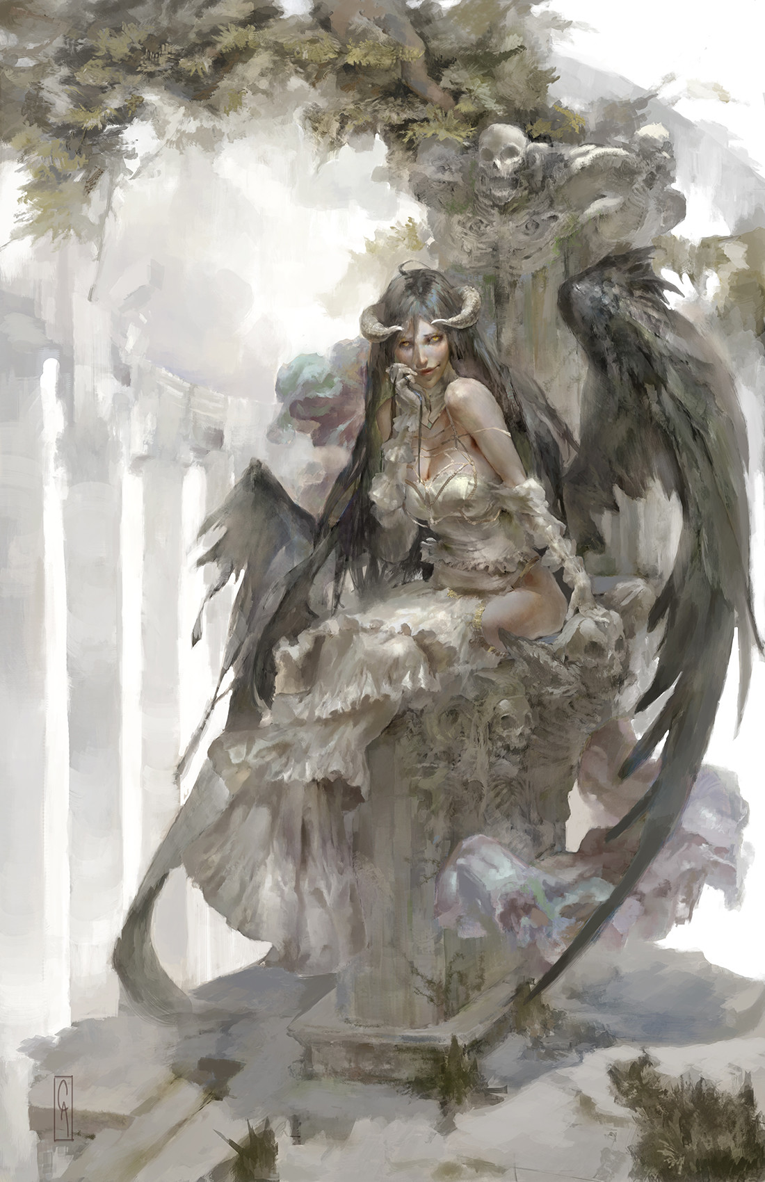 Christian angel albedo smol